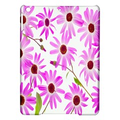 Pink Purple Daisies Design Flowers Ipad Air Hardshell Cases by Nexatart