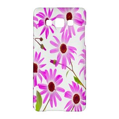 Pink Purple Daisies Design Flowers Samsung Galaxy A5 Hardshell Case