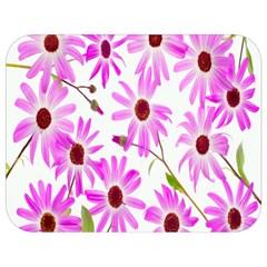 Pink Purple Daisies Design Flowers Full Print Lunch Bag by Nexatart