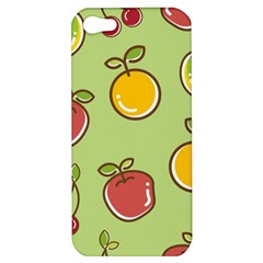 Seamless Pattern Healthy Fruit Apple Iphone 5 Hardshell Case