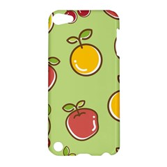 Seamless Pattern Healthy Fruit Apple Ipod Touch 5 Hardshell Case