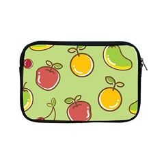 Seamless Pattern Healthy Fruit Apple Ipad Mini Zipper Cases