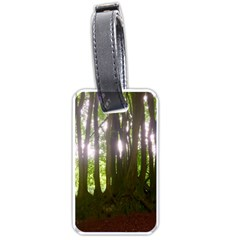 Tree Of Trees Luggage Tags (one Side)