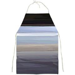 Pompey Beach Full Print Aprons