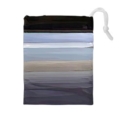 Pompey Beach Drawstring Pouches (extra Large)
