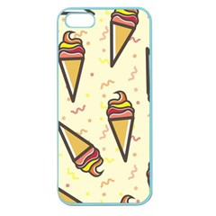 Pattern Sweet Seamless Background Apple Seamless Iphone 5 Case (color)