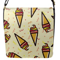 Pattern Sweet Seamless Background Flap Messenger Bag (s)