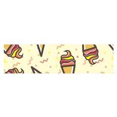 Pattern Sweet Seamless Background Satin Scarf (oblong)