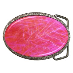 Pink Background Abstract Texture Belt Buckles by Nexatart