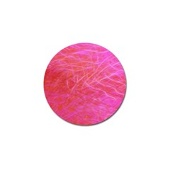 Pink Background Abstract Texture Golf Ball Marker (10 Pack)