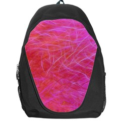 Pink Background Abstract Texture Backpack Bag