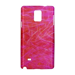 Pink Background Abstract Texture Samsung Galaxy Note 4 Hardshell Case