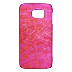 Pink Background Abstract Texture Samsung Galaxy S6 Hardshell Case