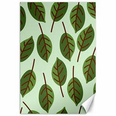 Design Pattern Background Green Canvas 20  X 30