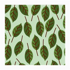 Design Pattern Background Green Medium Glasses Cloth (2 Side)