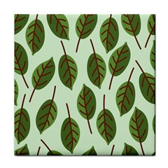 Design Pattern Background Green Face Towel