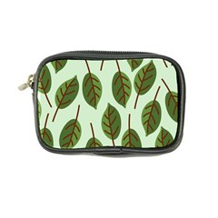 Design Pattern Background Green Coin Purse
