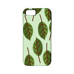 Design Pattern Background Green Apple Iphone 5 Classic Hardshell Case (pc+silicone)