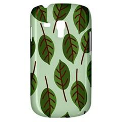 Design Pattern Background Green Samsung Galaxy S3 Mini I8190 Hardshell Case