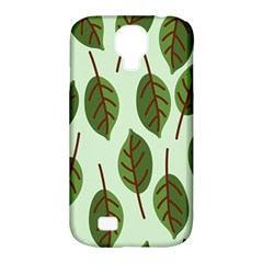 Design Pattern Background Green Samsung Galaxy S4 Classic Hardshell Case (pc+silicone)