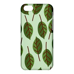 Design Pattern Background Green Apple Iphone 5c Hardshell Case