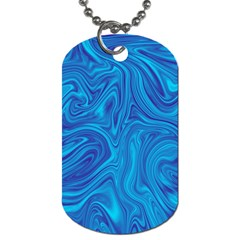 Abstract Pattern Art Desktop Shape Dog Tag (one Side)