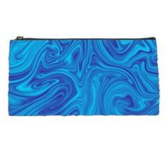 Abstract Pattern Art Desktop Shape Pencil Cases by Nexatart
