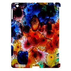 Ornament Color Vivid Pattern Art Apple Ipad 3/4 Hardshell Case (compatible With Smart Cover)