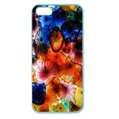 Ornament Color Vivid Pattern Art Apple Seamless Iphone 5 Case (color)