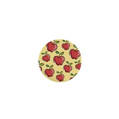 Seamless Pattern Healthy Fruit 1  Mini Magnets