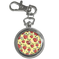 Seamless Pattern Healthy Fruit Key Chain Watches