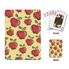 Seamless Pattern Healthy Fruit Playing Card