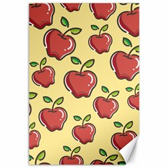 Seamless Pattern Healthy Fruit Canvas 12  X 18