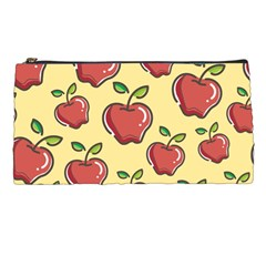 Seamless Pattern Healthy Fruit Pencil Cases by Nexatart