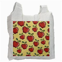 Seamless Pattern Healthy Fruit Recycle Bag (two Side)