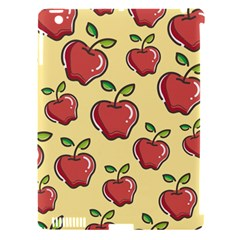 Seamless Pattern Healthy Fruit Apple Ipad 3/4 Hardshell Case (compatible With Smart Cover)