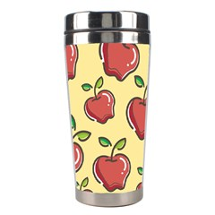 Seamless Pattern Healthy Fruit Stainless Steel Travel Tumblers