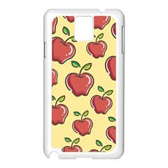 Seamless Pattern Healthy Fruit Samsung Galaxy Note 3 N9005 Case (white)