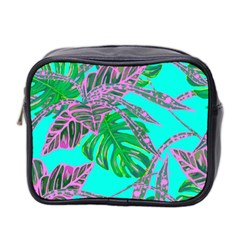 Painting Oil Leaves Nature Reason Mini Toiletries Bag 2 Side by Nexatart