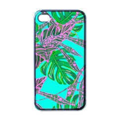 Painting Oil Leaves Nature Reason Apple Iphone 4 Case (black)