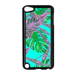 Painting Oil Leaves Nature Reason Apple Ipod Touch 5 Case (black) by Nexatart