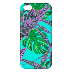 Painting Oil Leaves Nature Reason Apple Iphone 5 Premium Hardshell Case