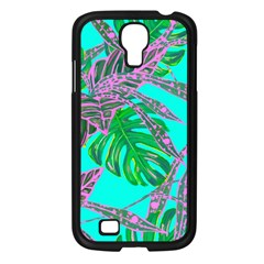 Painting Oil Leaves Nature Reason Samsung Galaxy S4 I9500/ I9505 Case (black)