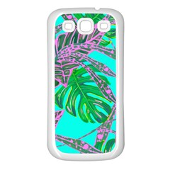 Painting Oil Leaves Nature Reason Samsung Galaxy S3 Back Case (white)