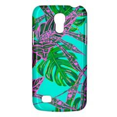 Painting Oil Leaves Nature Reason Samsung Galaxy S4 Mini (gt I9190) Hardshell Case  by Nexatart