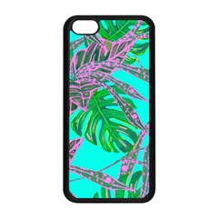 Painting Oil Leaves Nature Reason Apple Iphone 5c Seamless Case (black)