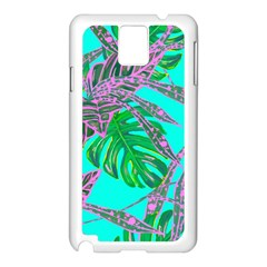Painting Oil Leaves Nature Reason Samsung Galaxy Note 3 N9005 Case (white)