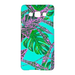 Painting Oil Leaves Nature Reason Samsung Galaxy A5 Hardshell Case