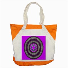 Round Pattern Ethnic Design Accent Tote Bag
