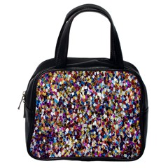 Pattern Abstract Decoration Art Classic Handbags (one Side)